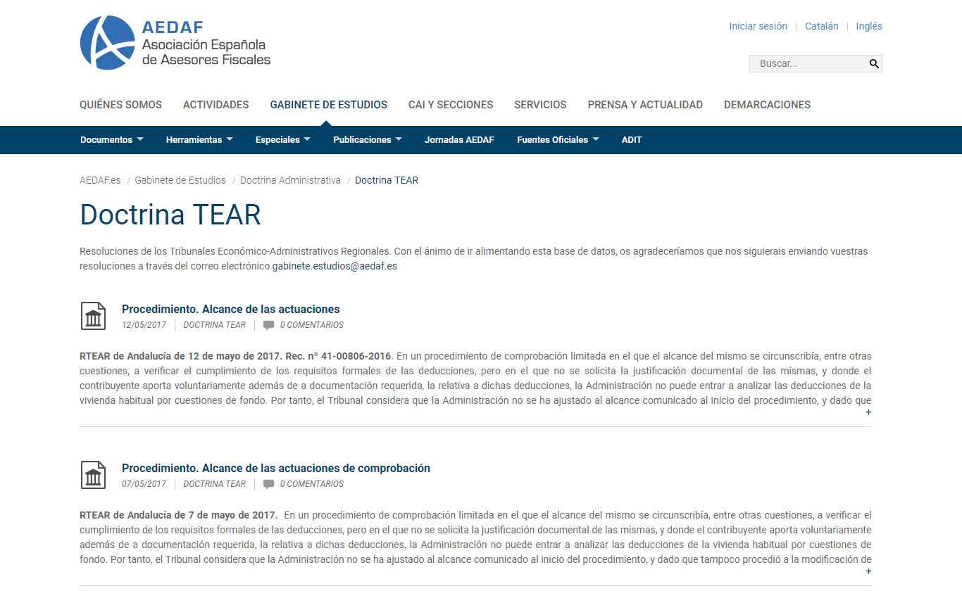 Resolucion TEAR
